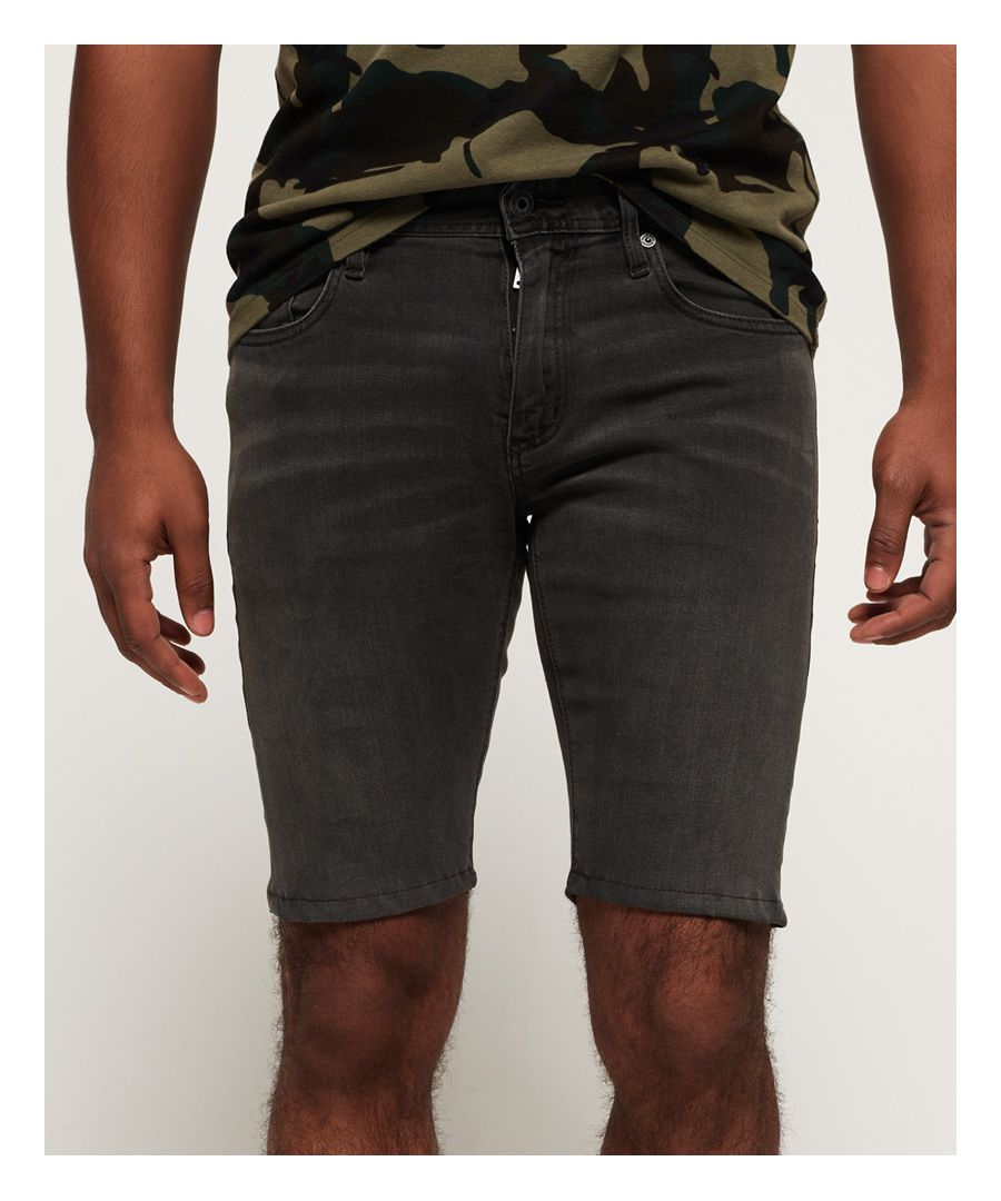 Image for Superdry Denim Slim Shorts