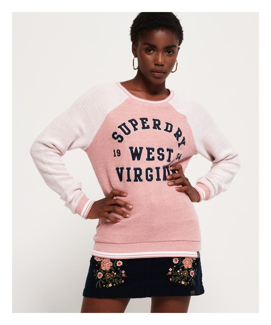 Image for Superdry Avia Reversed Crew Jumper