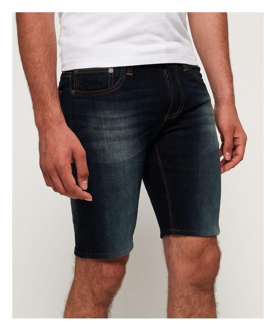 Image for Superdry Denim Slim Shorts