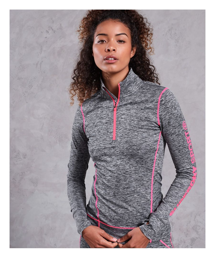 Image for Superdry Performance Reflective Half Zip Top