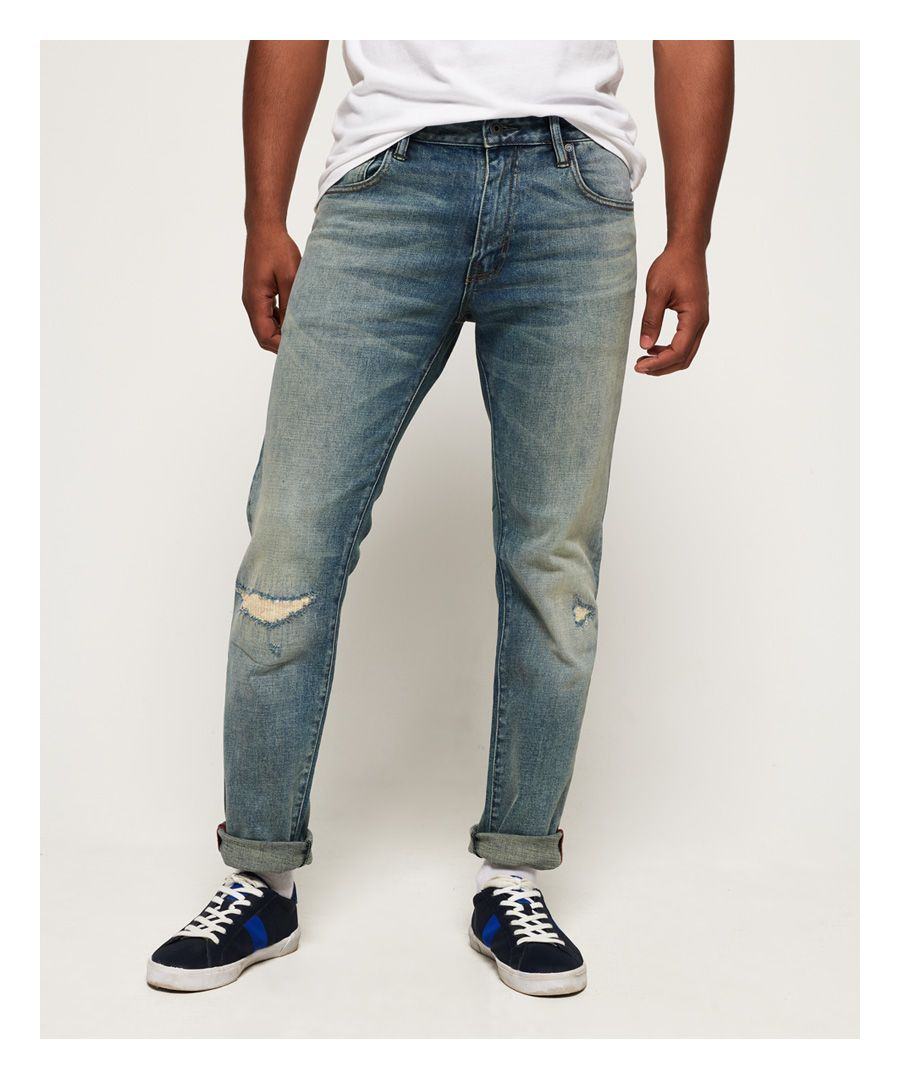 Image for Superdry Daman Straight Jeans