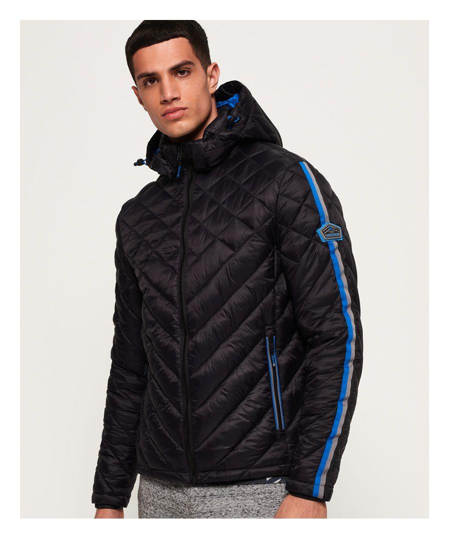 Image for Superdry Quilt Fade Fuji Jacket