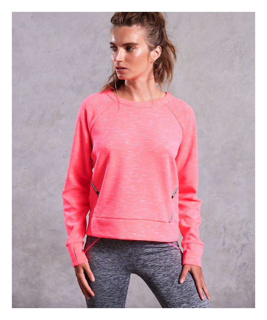Image for Superdry Core Gym Tech Panel Crew Jumper