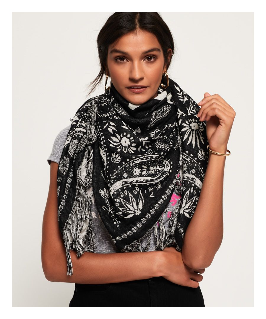 Image for Superdry Square Smock Scarf