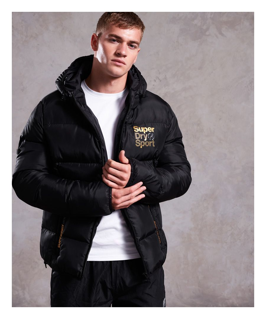 Image for Superdry Gym Tech Gold Puffer Jacket