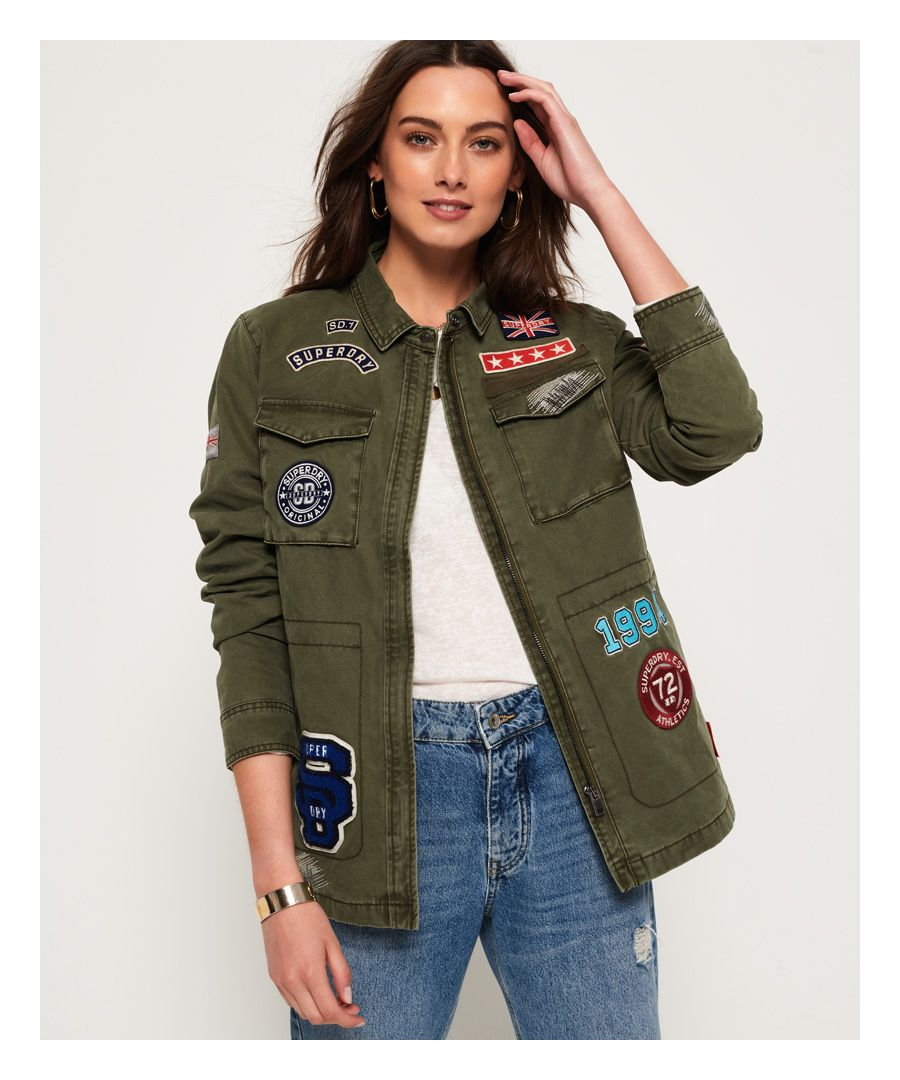 Image for Superdry Rookie Varsity Jacket
