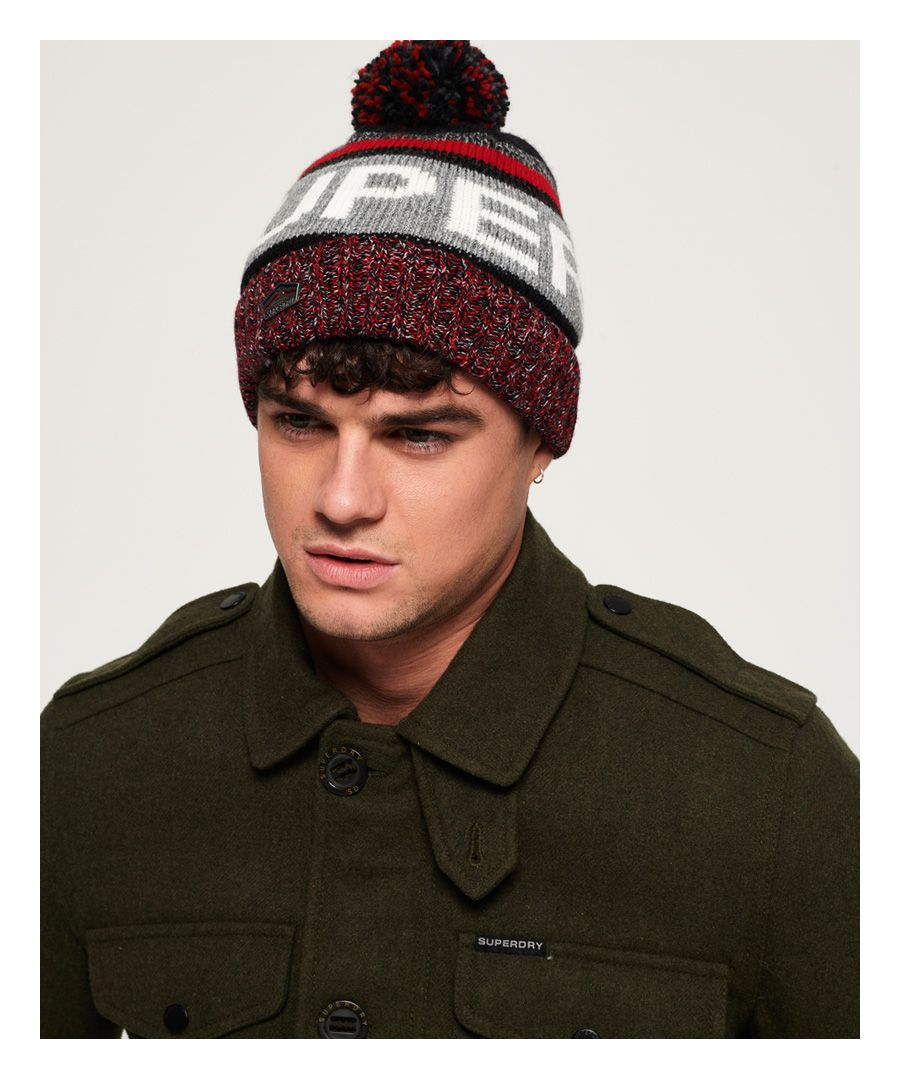 Image for Superdry Super SD Logo Beanie