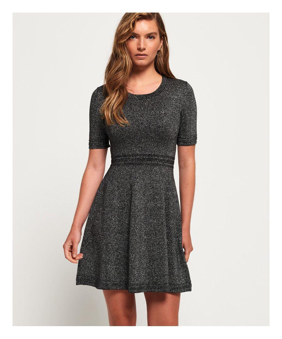 Image for Superdry Riley Fit & Flare Knitted Dress