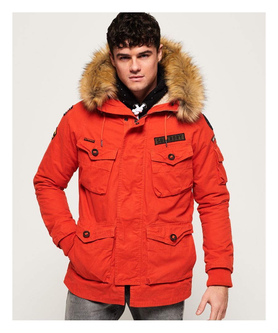 Image for Superdry Rookie Heavy Weather Parka Jacket