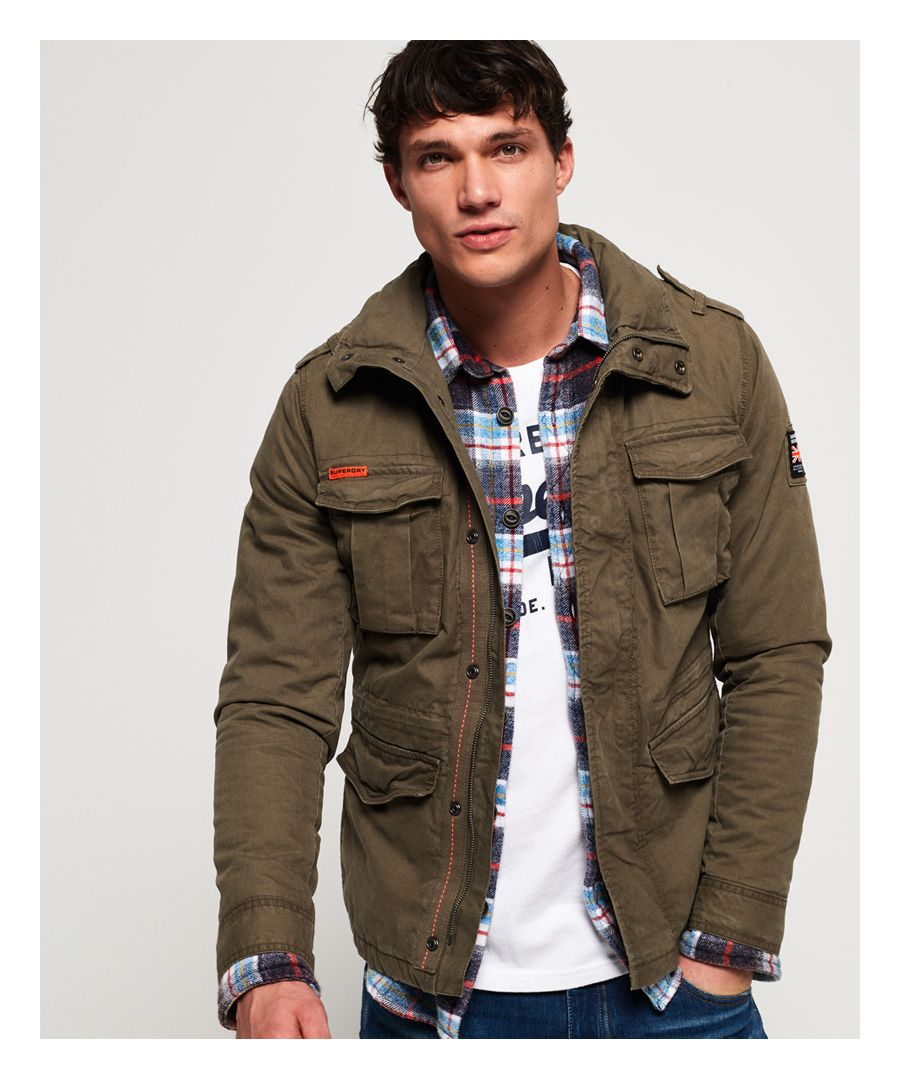 Image for Superdry Classic Rookie Military Jacket