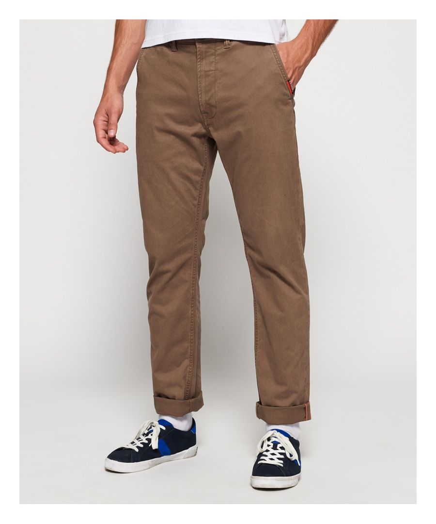 Image for Superdry International Straight Chinos