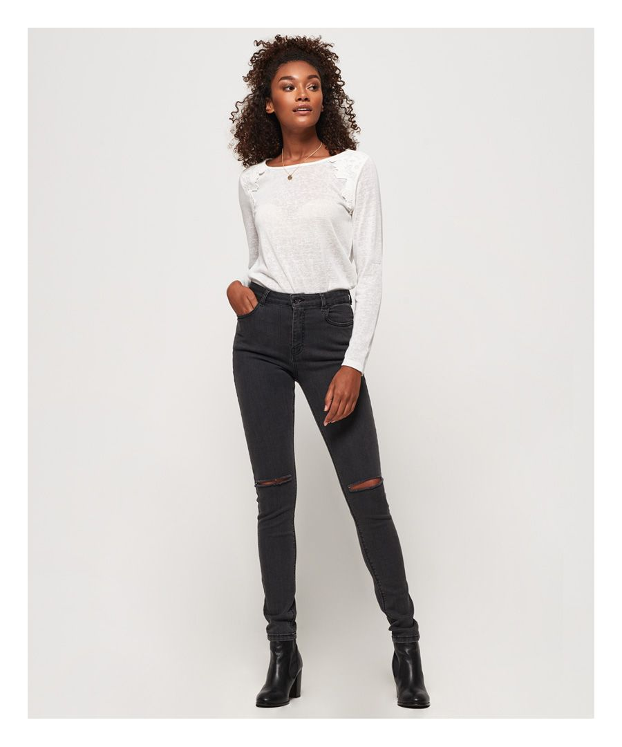 Image for Superdry Sophia High Waist Skinny Jeans