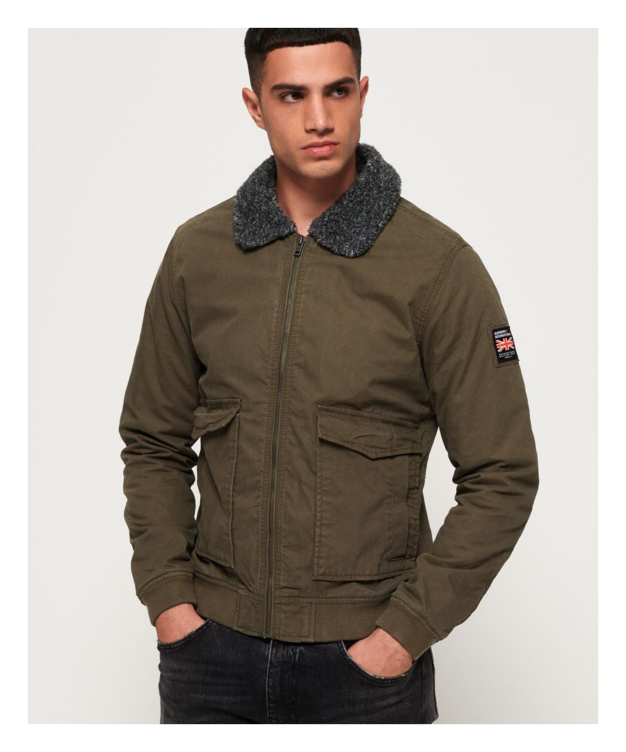 Image for Superdry Rookie Winter Aviator Bomber Jacket