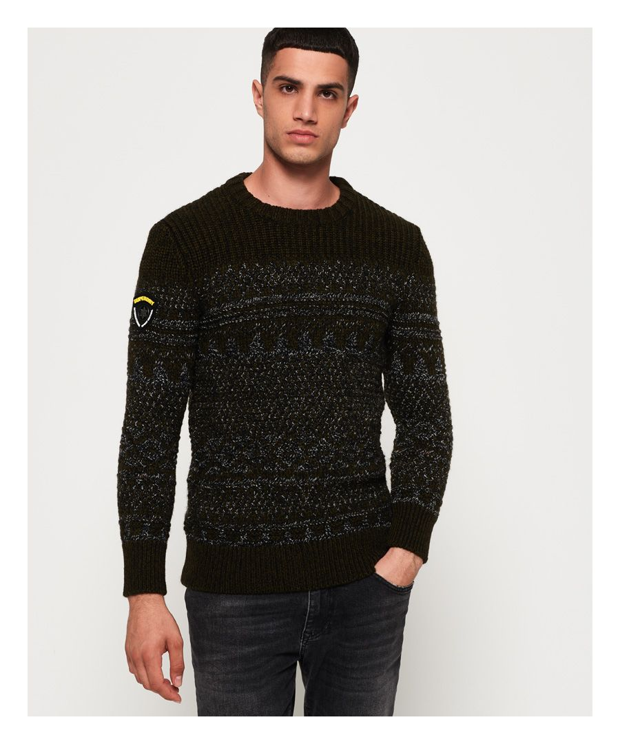 Image for Superdry Blackstone Crew Jumper