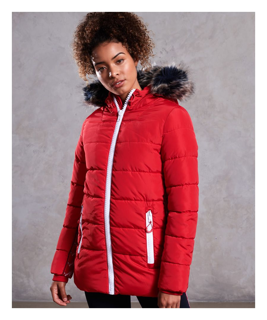 Image for Superdry Streetwear Tall Repeat Puffer Jacket