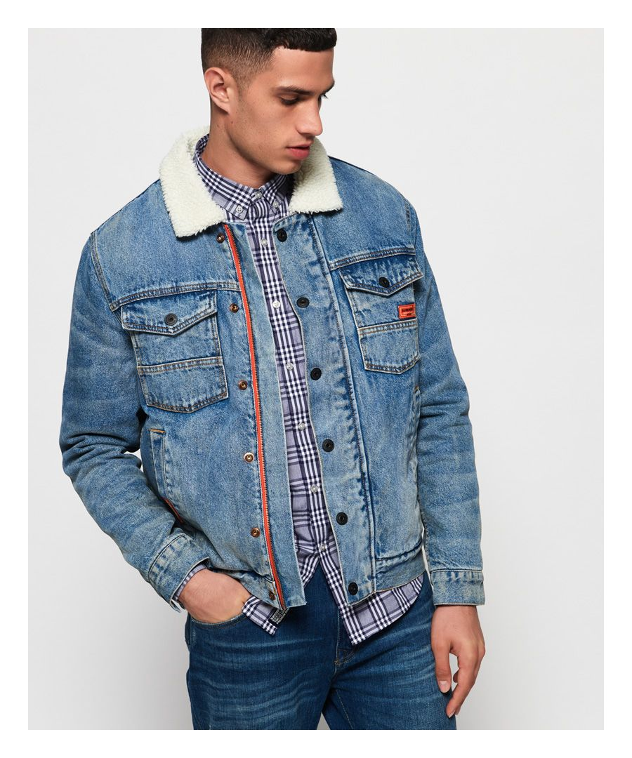 Image for Superdry Hacienda Denim Jacket