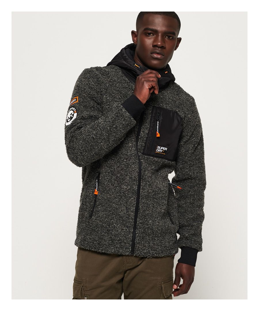 Image for Superdry Mountain Sherpa Zip Hoodie