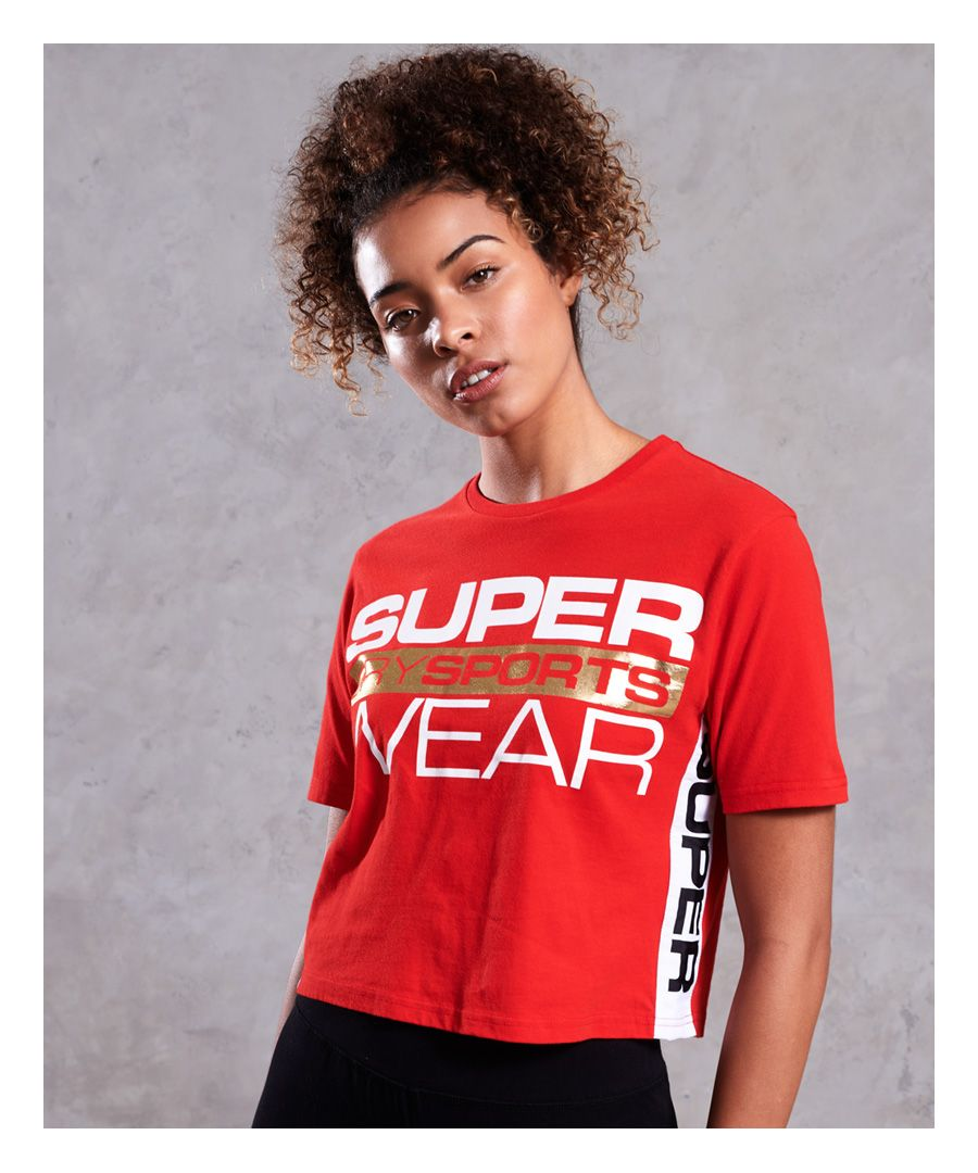 Image for Superdry Street Sports Crop T-Shirt