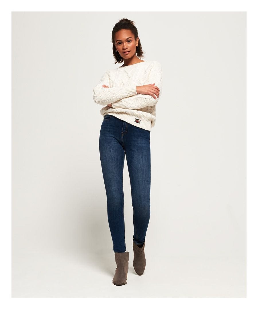 Image for Superdry Superflex Skinny High Rise Jeans