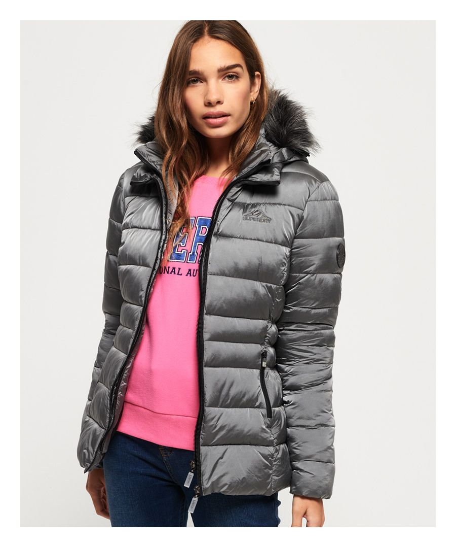 Image for Superdry Taiko Padded Faux Fur Jacket