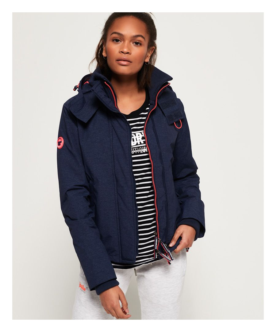 Image for Superdry Arctic Hooded Pop Zip SD-Windcheater Jacket