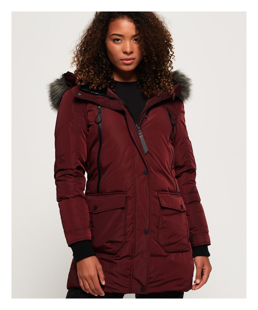 Image for Superdry Antarctic Explorer Down Parka Jacket