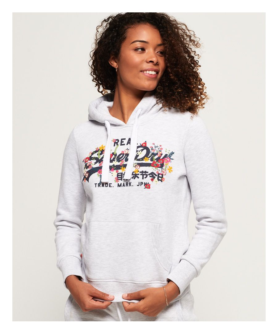 Image for Superdry Vintage Logo Puff Embroidery Hoodie