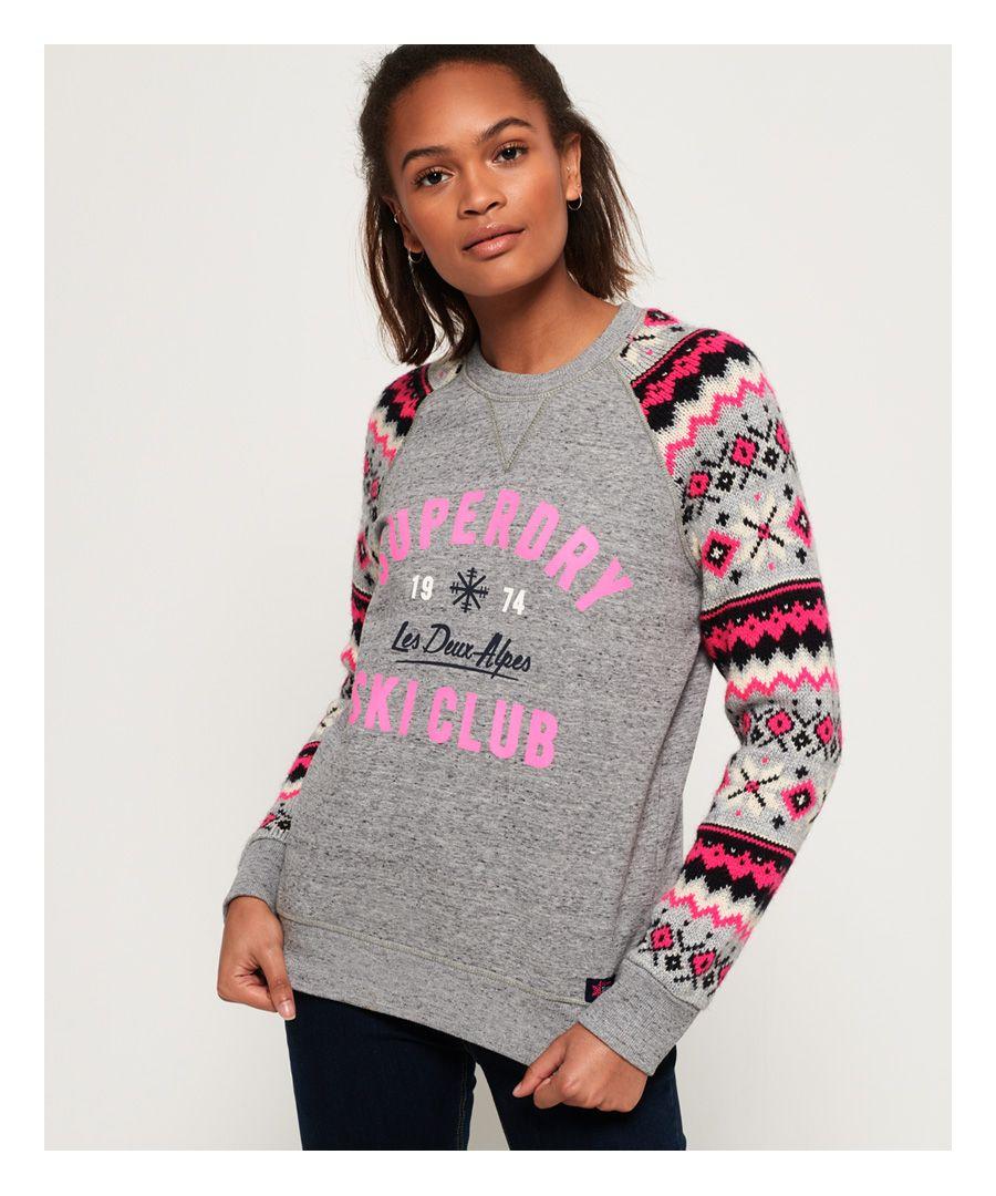 Image for Superdry Dakota Fairisle Crew Sweatshirt