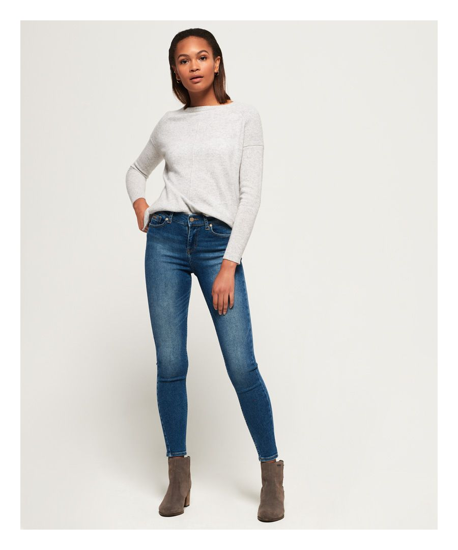 Image for Superdry Super Vintage Skinny Mid Rise Jeans