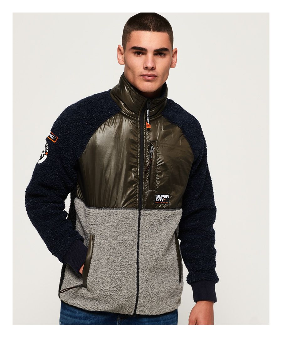Image for Superdry Mountain Sherpa Block Track Top