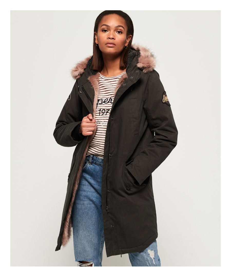 Image for Superdry Frankie Faux Fur Lined Parka Jacket