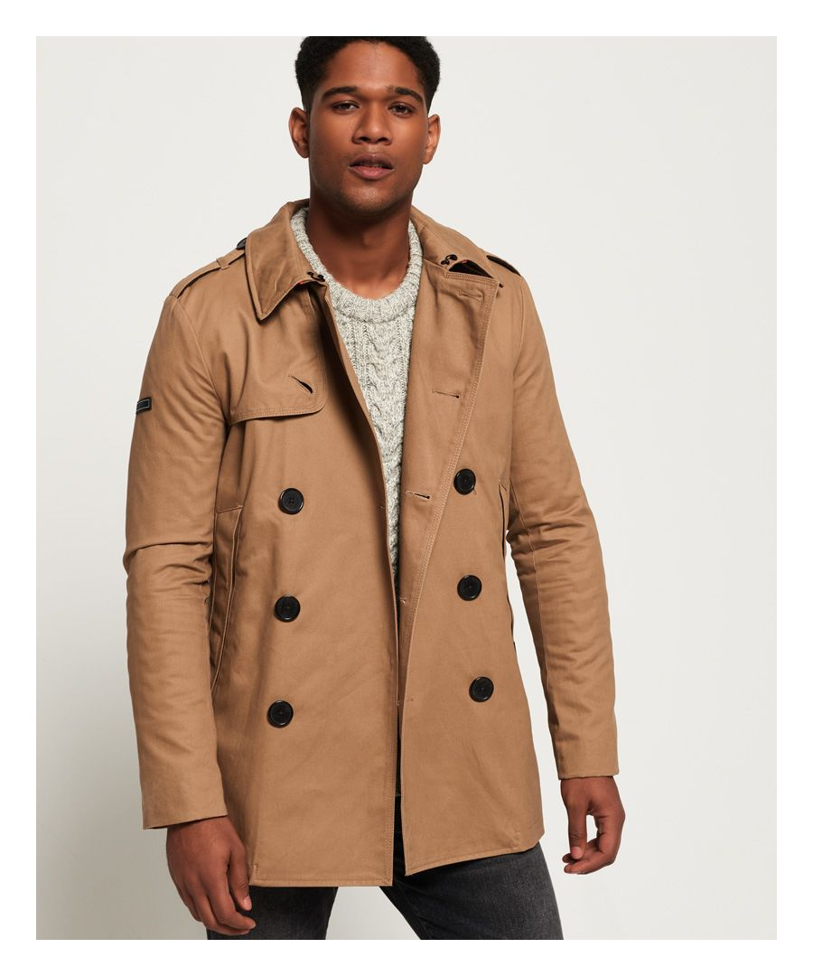 Image for Superdry Remastered Rogue Trench Coat