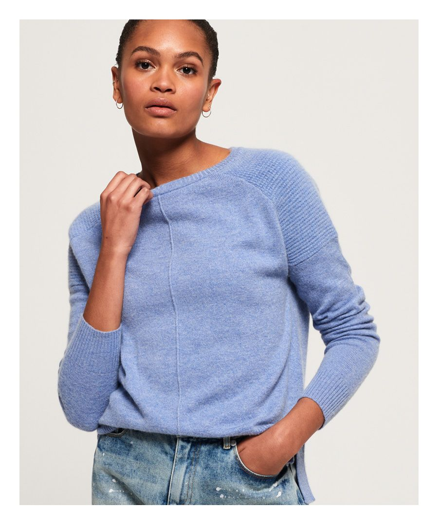 Image for Superdry Bria Raglan Knit