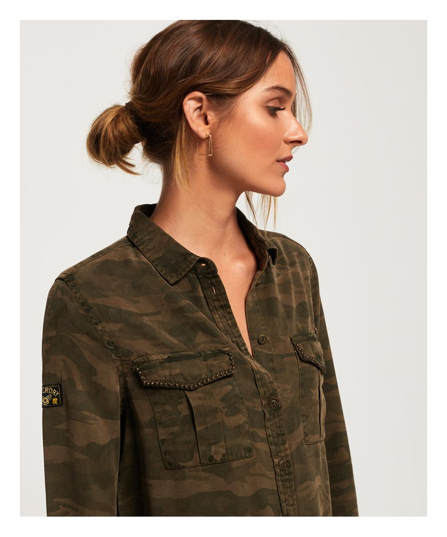 Image for Superdry Roxanne Military Shirt