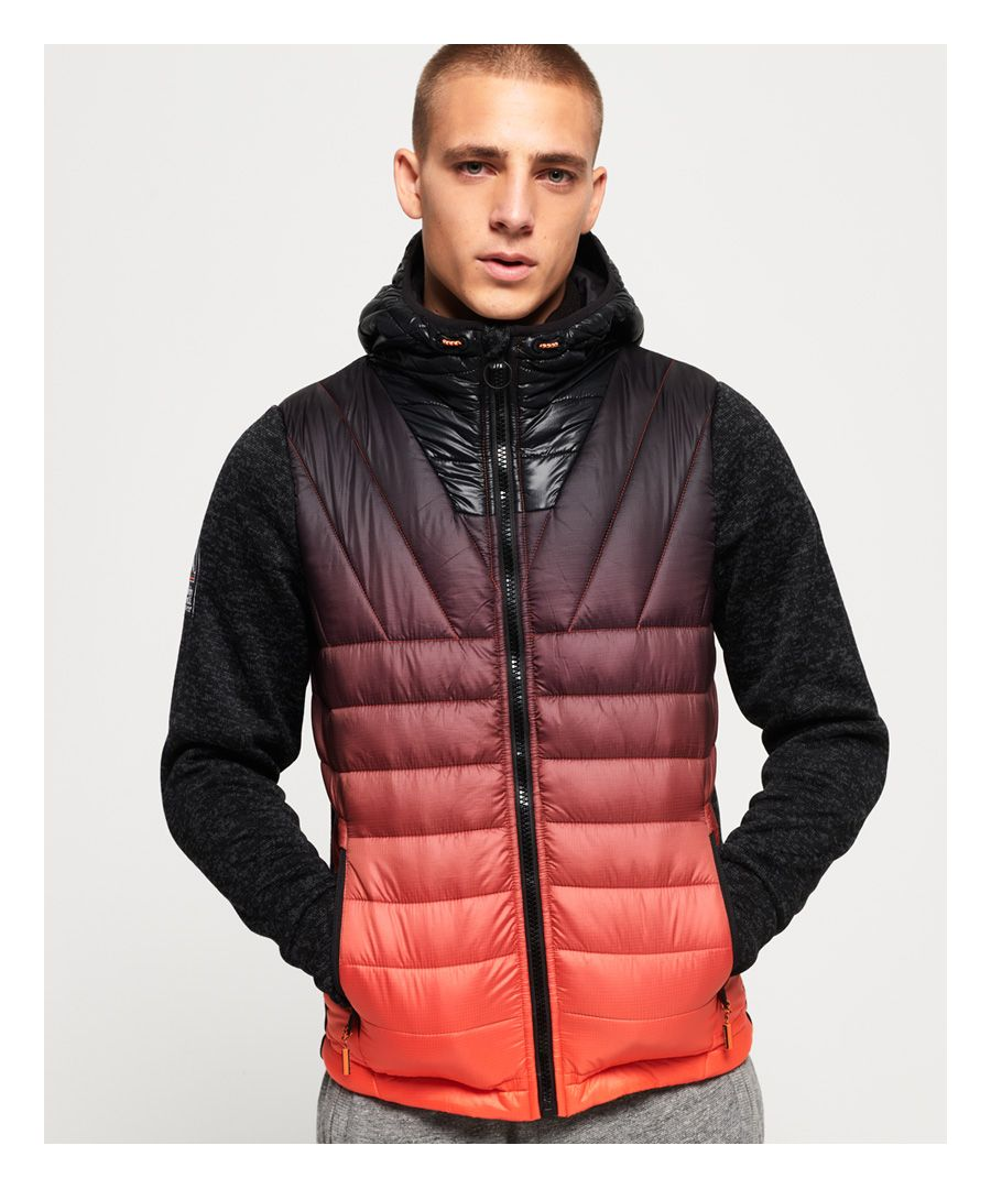 Image for Superdry Storm Ombre Hybrid Zip Hoodie