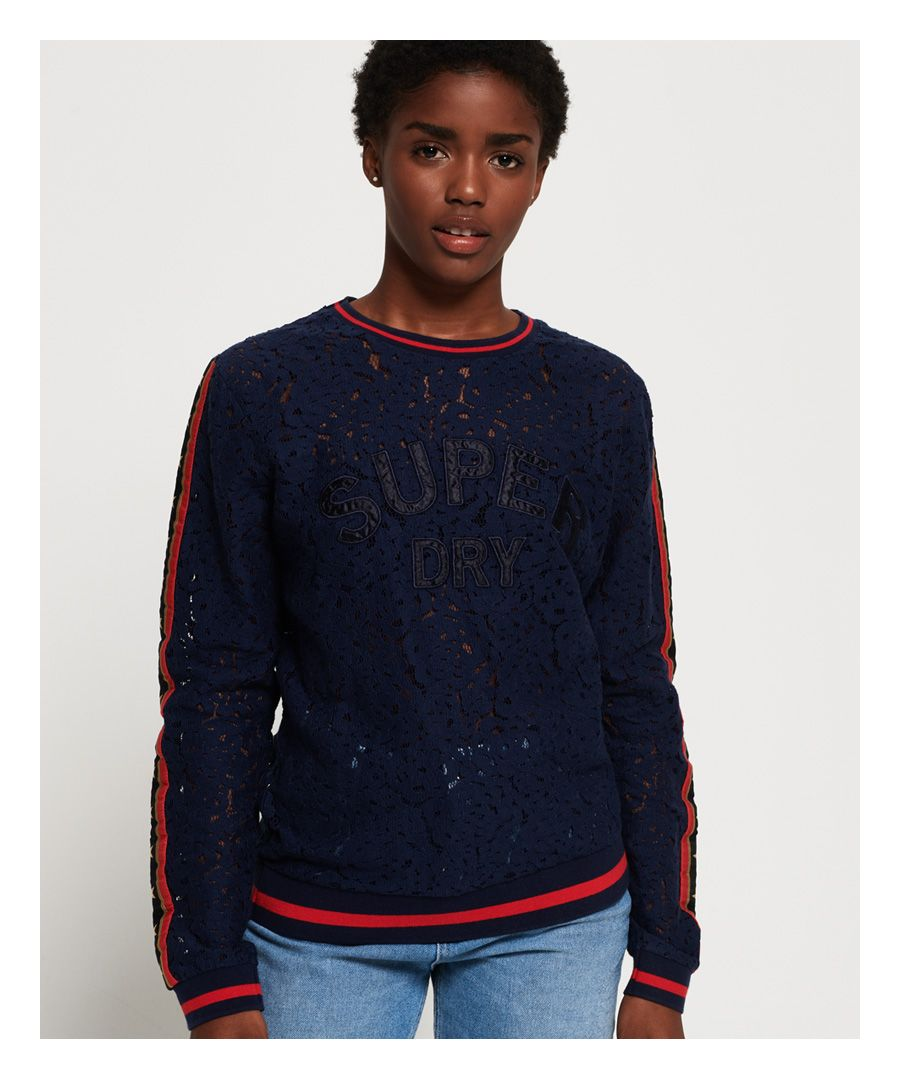 Image for Superdry Rock Lace Long Sleeve Top