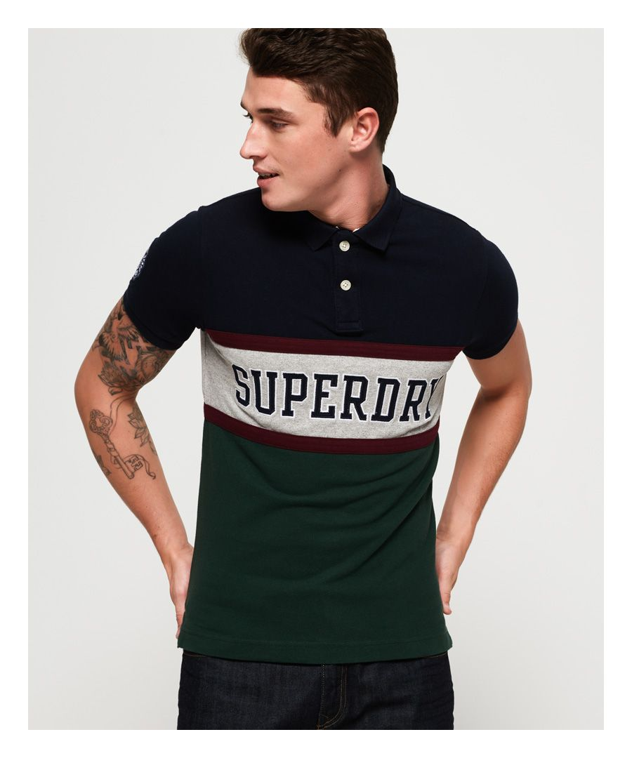 Image for Superdry Classic International Applique Polo Shirt