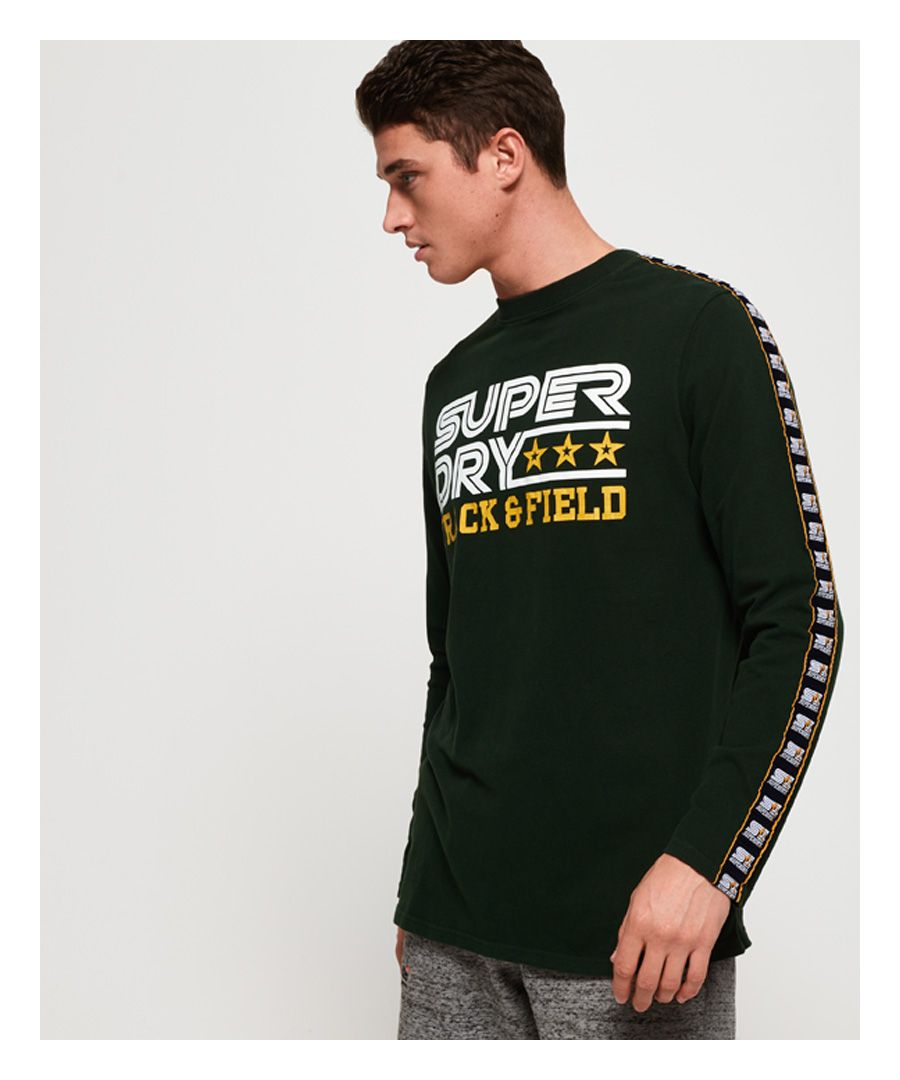 Image for Superdry Podium Oversized Long Sleeve T-Shirt