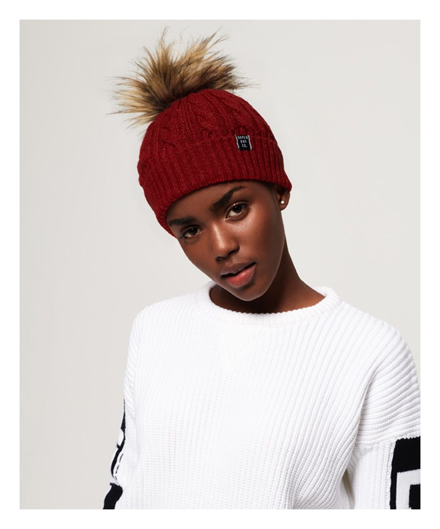 Image for Superdry Croyde Cable Beanie
