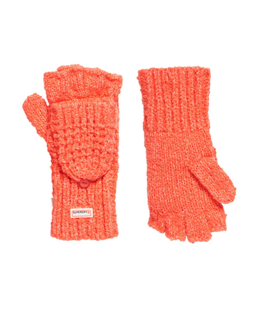 Image for Superdry Clarrie Stitch Mittens