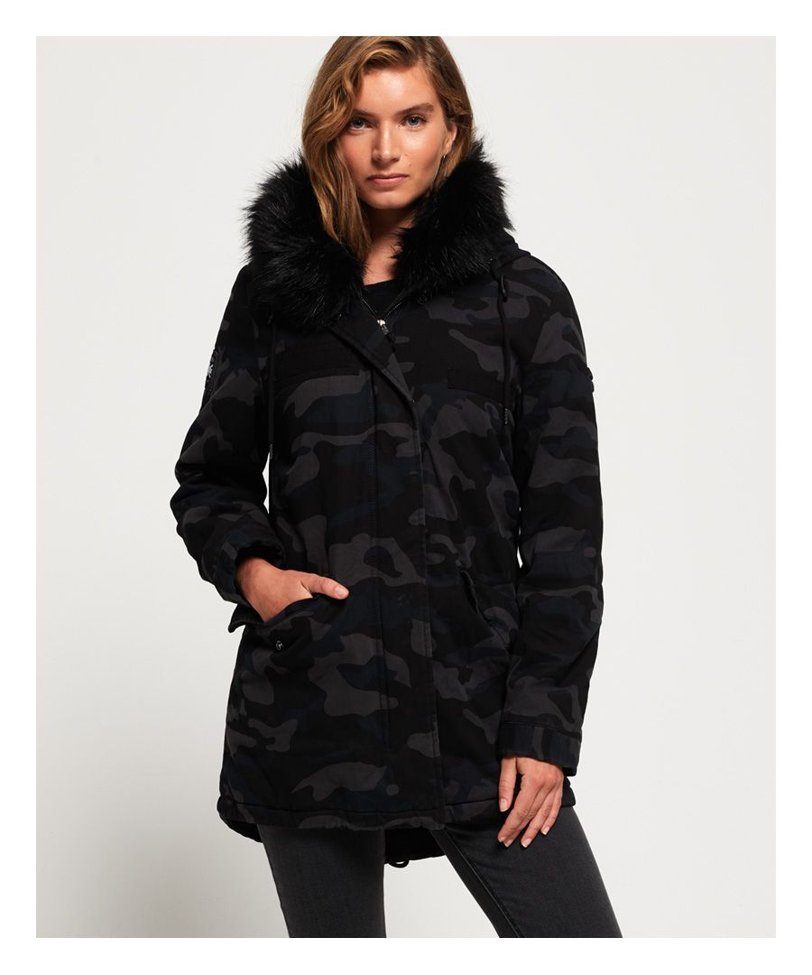 Image for Superdry Rookie Hawk Parka Jacket
