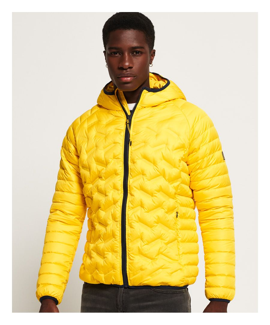 Image for Superdry Down Radar Mix Quilted Jacket