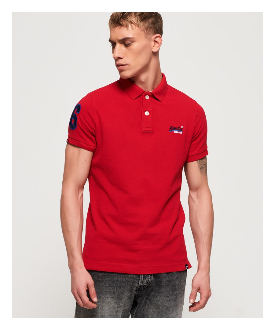 Image for Superdry Classic Pique Polo Shirt