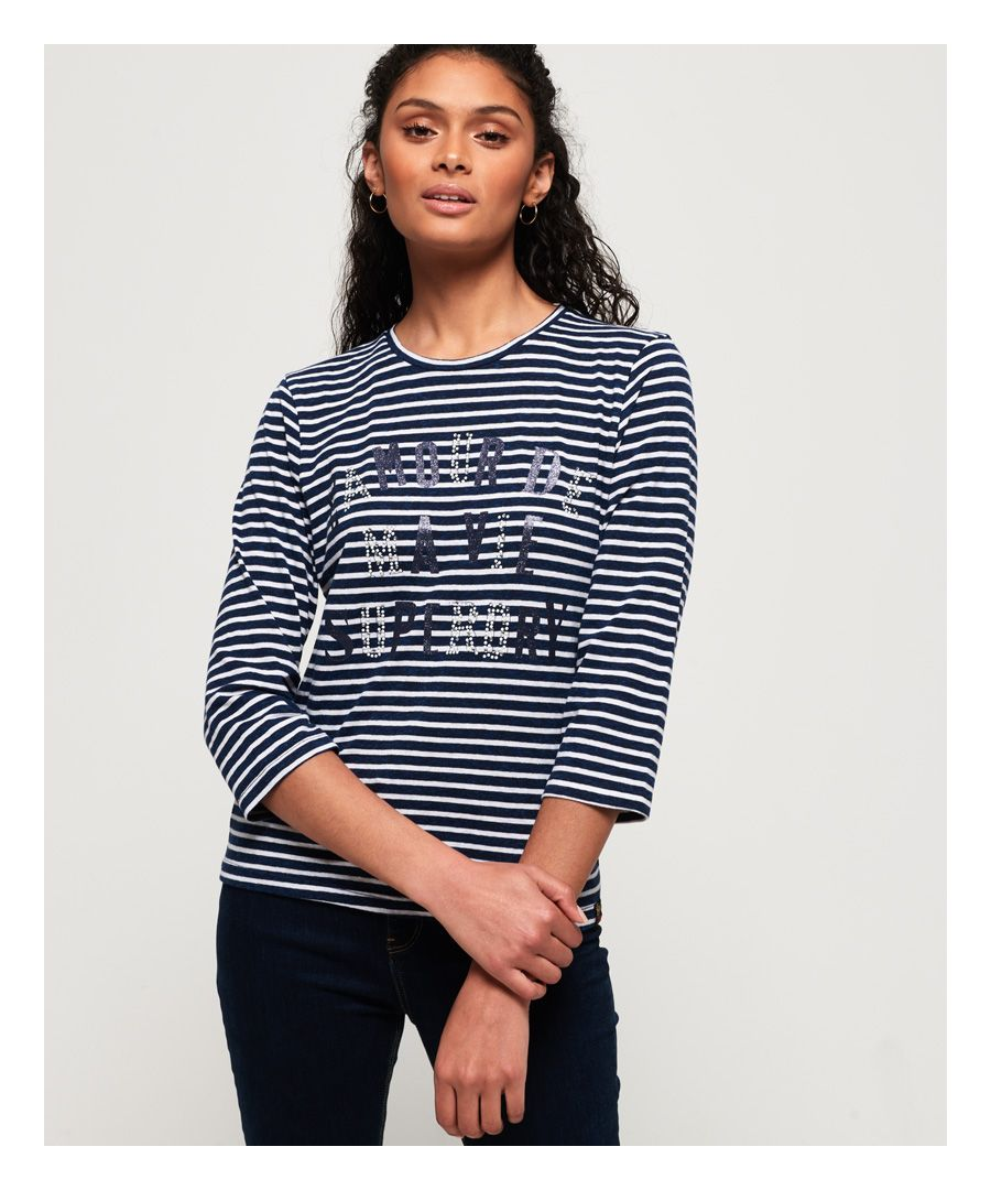 Image for Superdry Jessa Graphic Top