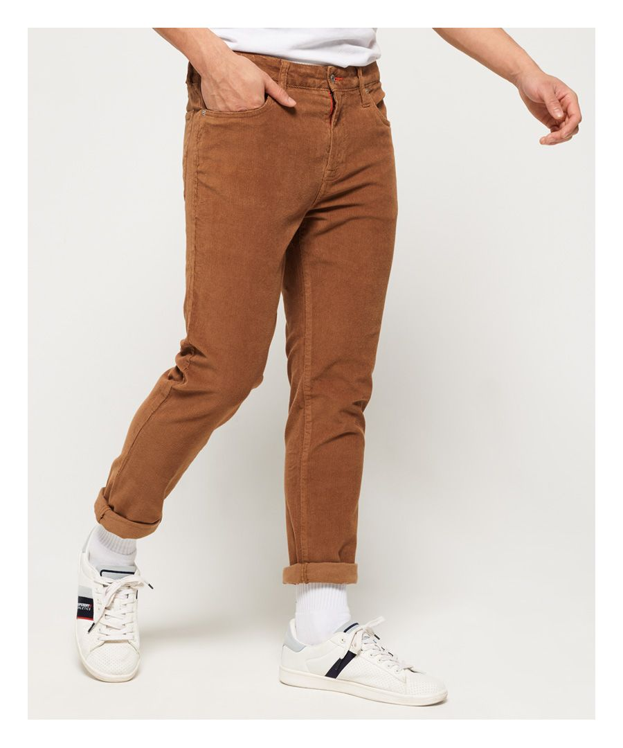 Image for Superdry Slim Tyler Cord Five Pocket Trousers