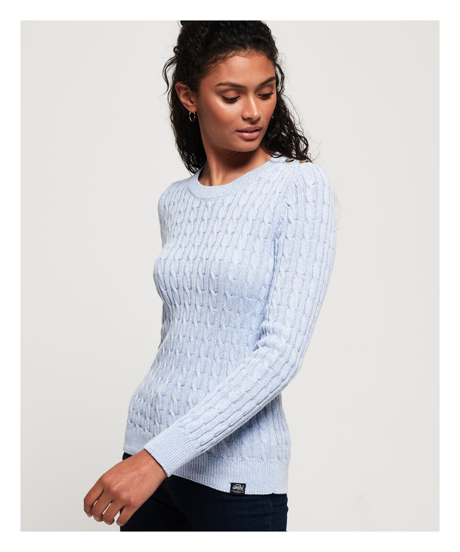Image for Superdry Croyde Bay Cable Knit Jumper
