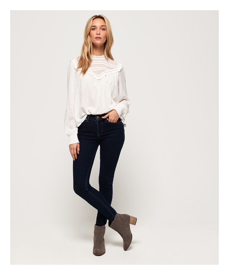 Image for Superdry SuperVintage Mid Rise Super Skinny Jeans