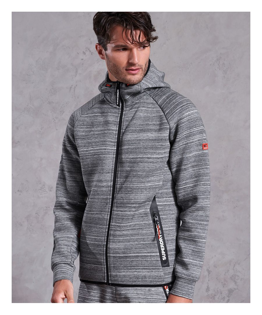 Image for Superdry Gym Tech Stretch Zip Hoodie