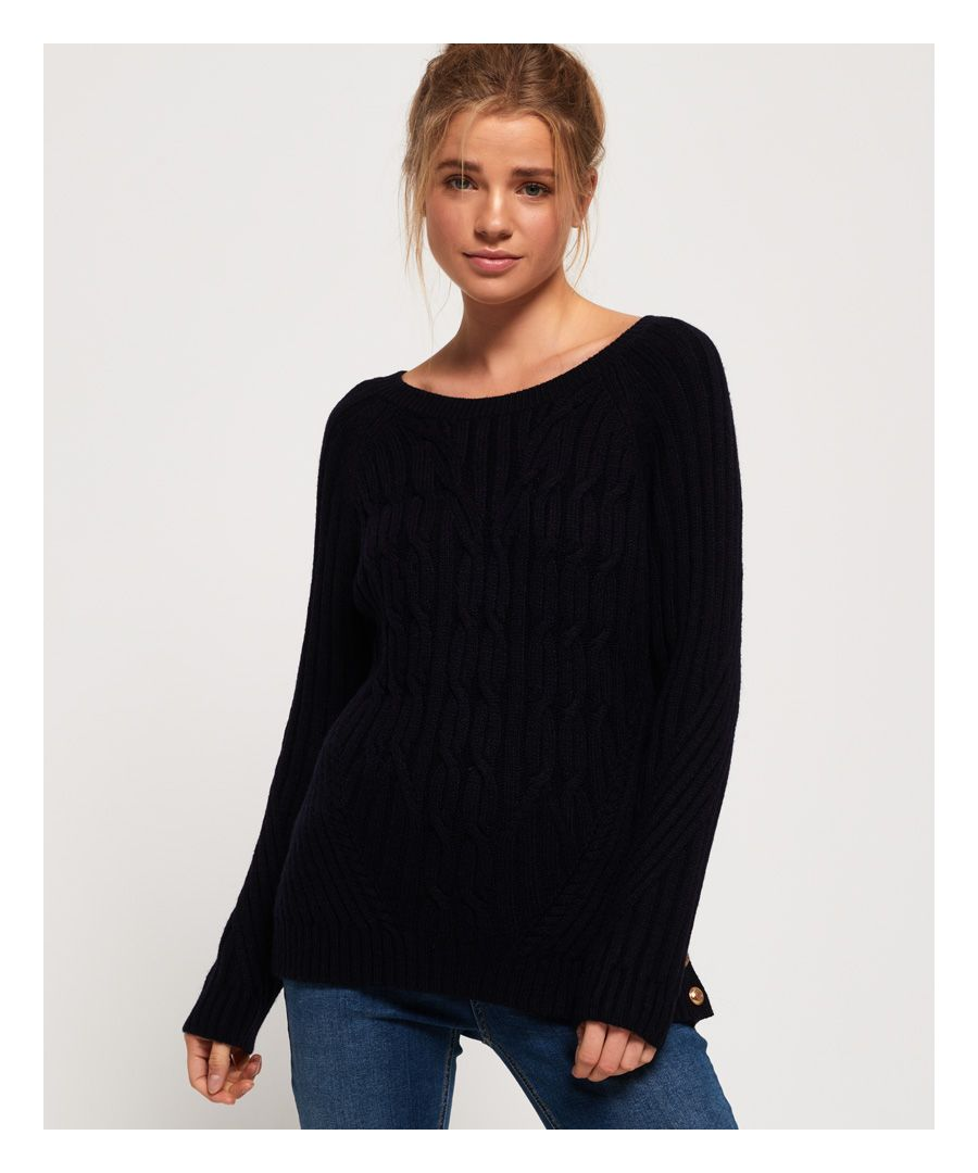 Image for Superdry Hester Cable Knit Jumper