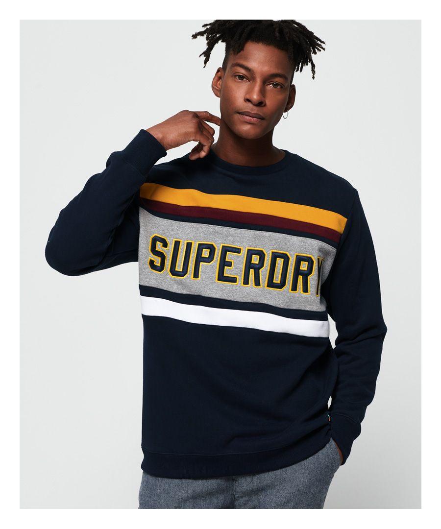 Image for Superdry Applique Weekend Cut & Sew Sweatshirt